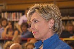Senator Clinton pensive royalty free stock photography