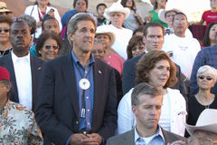 Senator e Sra. John Kerry fotografia de stock royalty free