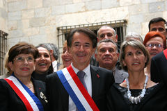 Senator Jean-Paul Alduy Stock Photography