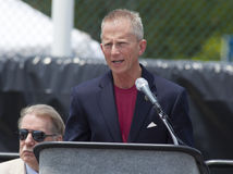 Senator Jeff Van Desenhar de NJ Imagens de Stock Royalty Free