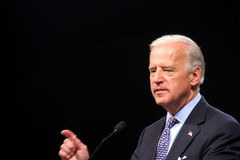 Senator Joe Biden Stock Foto's