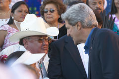 Senator John Kerry Royalty Free Stock Photo