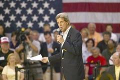 Senator John Kerry addressing audience of seniors at the Valley View Rec Center, Henderson, NV Stock Photography