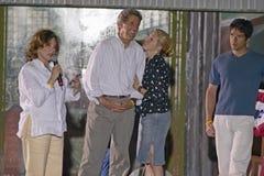 Senator John Kerry and family Stock Photo