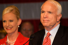Senator John McCain Stock Photo