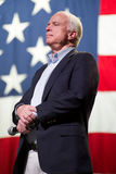 Senator John McCain appears at a town hall meeting in Mesa, Ariz Stock Photo