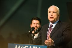 Senator John McCain Horizontal Stock Photography
