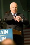 Senator John McCain Looking at watch royalty free stock photo