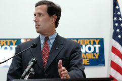 Senator Rick Santorum Stock Photos