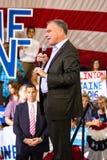 Senator Tim Kaine Prowadzi kampanię przy Politycznym wiecem Zdjęcia Royalty Free