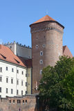 Senator tower of Wawel royal castle Stock Photography