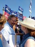 Senator van Verenigde Staten van New Jersey, Bob Menendez stock fotografie