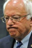 Senatora Bernie Sanders - Modesto, CA konferencja prasowa Fotografia Stock