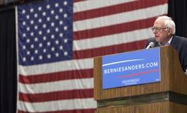 Senatora Bernie Sanders Prowadzić kampanię Obrazy Stock