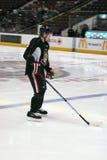 Senators Jogador de Ottawa Fotos de Stock Royalty Free