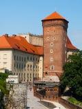 Senatorska Tower at Wawel Castle in Krakow Stock Photos