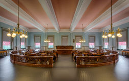 Senatskammer von Florida lizenzfreie stockfotos