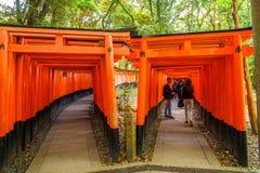 Senbon Torii Fushimi Inari Stock Image