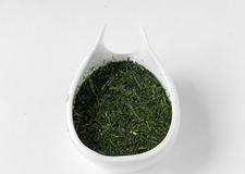Senca japanese tea ryokucha  green tea Royalty Free Stock Photo