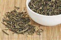 Sencha green tea Stock Image