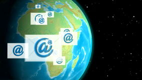 Send e-mail to world