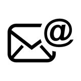 send email setup isolated icon design Royalty Free Stock Image