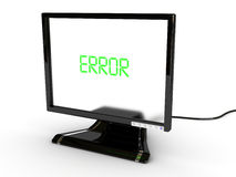 Send error Royalty Free Stock Image