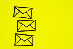 Send a letter Royalty Free Stock Photo