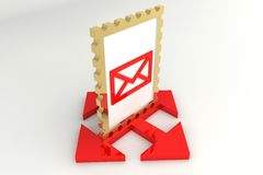 Send mail Royalty Free Stock Images