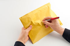 Send mail stock image