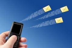 Send message Stock Image
