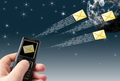 Send message Stock Photo