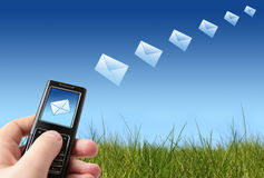 Send message Stock Images
