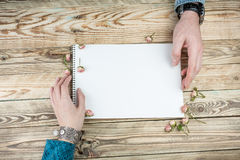 Send and Write love letter Royalty Free Stock Photography