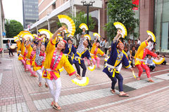 Sendaï Suzume Odori 2011 Images libres de droits