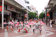Sendaï Suzume Odori 2011 Photo stock