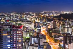 Sendai Japan Lizenzfreies Stockfoto