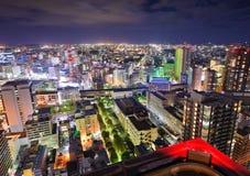Sendai Japan Cityscape royaltyfria bilder