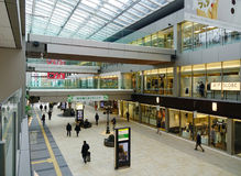 Inside of Sendai Railway Station in Japan Stock Photography