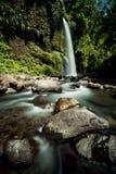 Sendang Gile Waterfall Fotografía de archivo