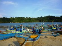 Sendangbiru beach Stock Image