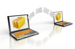 Senden Sie Briefe Lizenzfreie Stockfotografie