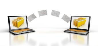 Senden Sie Briefe Stockfotos