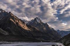 Senderismo de Paquistán Karakoram K2 foto de archivo libre de regalías
