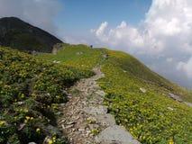 Senderismo Himalayan imagen de archivo libre de regalías