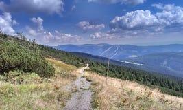 Sendero de la montaña Fotografía de archivo