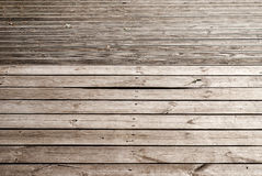 Sendero de madera de los tablones Imagen de archivo libre de regalías