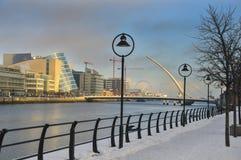 Sendero helado de Dublín Imágenes de archivo libres de regalías