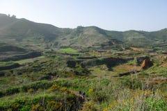 Sendero Las Charcas De Erjoy 免版税库存照片