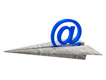 Sending e-mail Royalty Free Stock Images